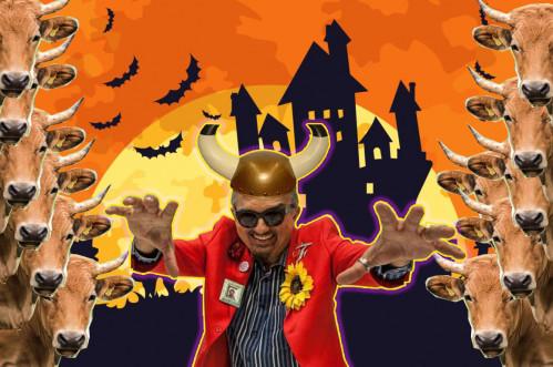 Fantasia de corno é tendência neste halloween