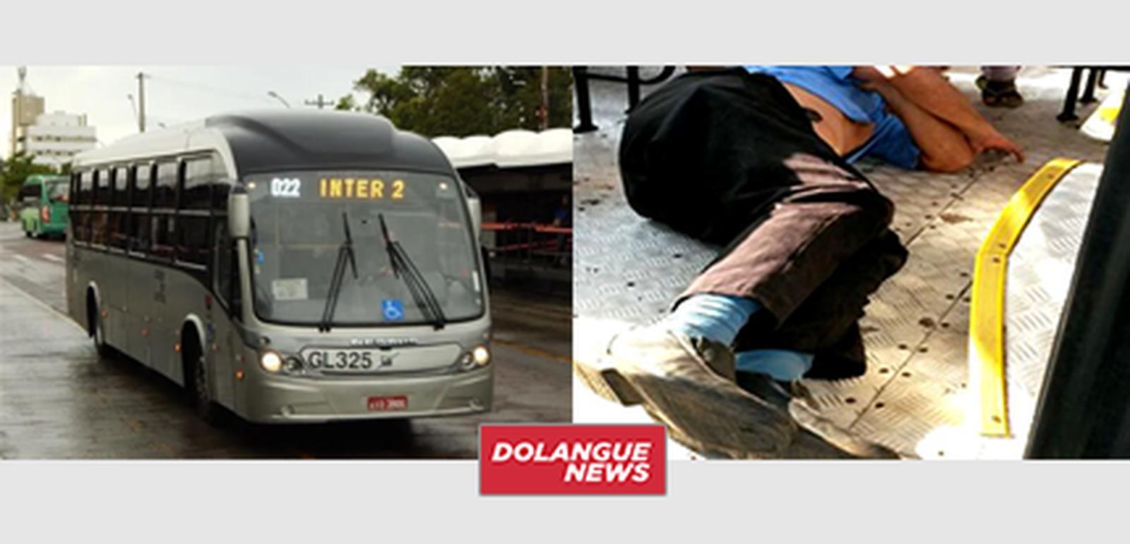 Homem desmaia ao pegar Inter 2 vazio em Curitiba