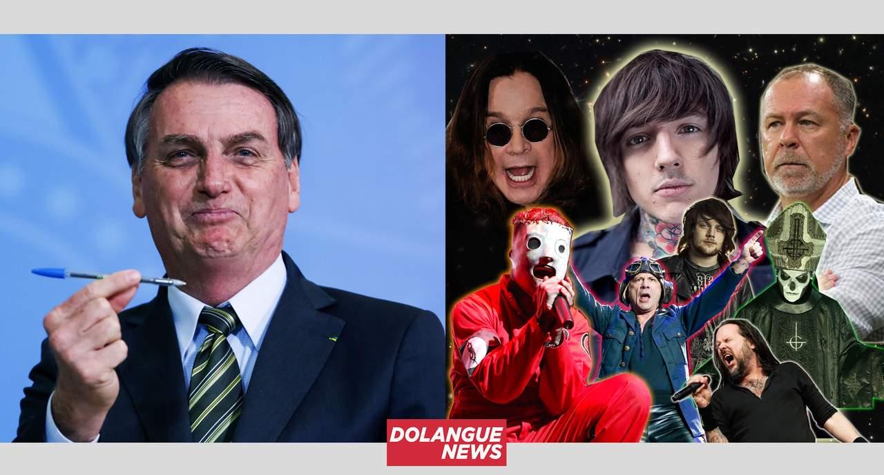 Bolsonaro quer proibir metalcore e outros gêneros de rock no Brasil