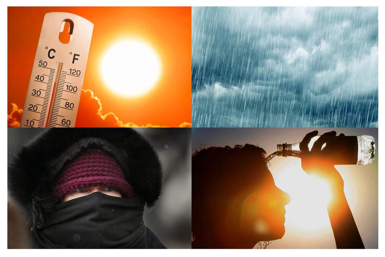 Previsão do tempo em Curitiba indica pancadas de chuva, calor, frio e muito sol