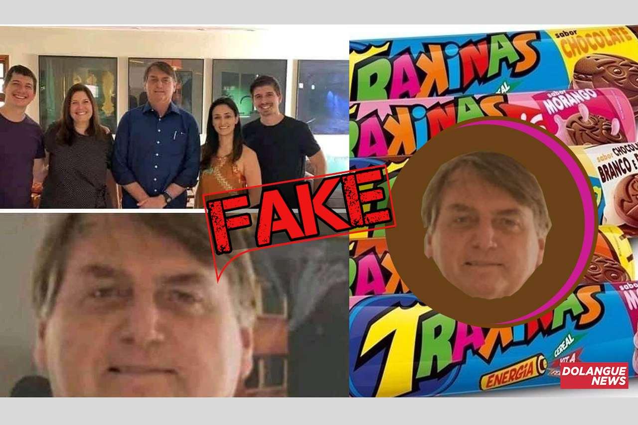 É #fake que bolachas Trakinas terão o rosto de Bolsonaro