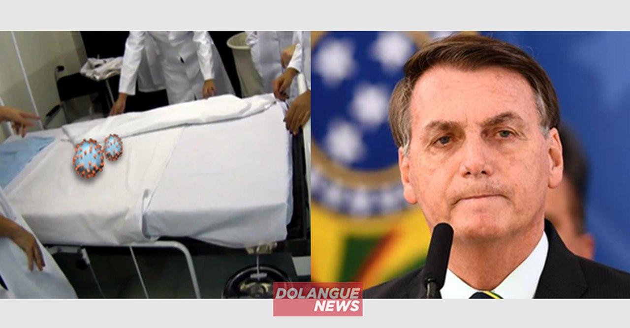 Coronavírus é internado em estado grave com sintomas de Bolsonaro