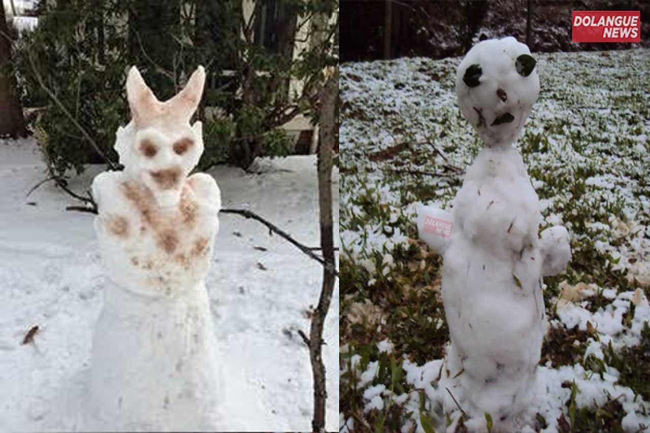 """Bonecos de neve causam pânico no sul do país: """"É boneco de nevil"""", diz moradora"""