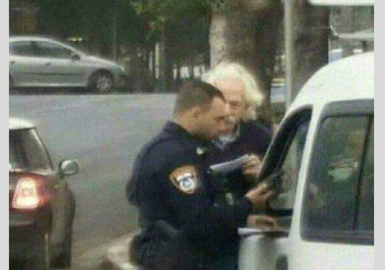 Guarda retira multa após compreender que velocidade é relativa