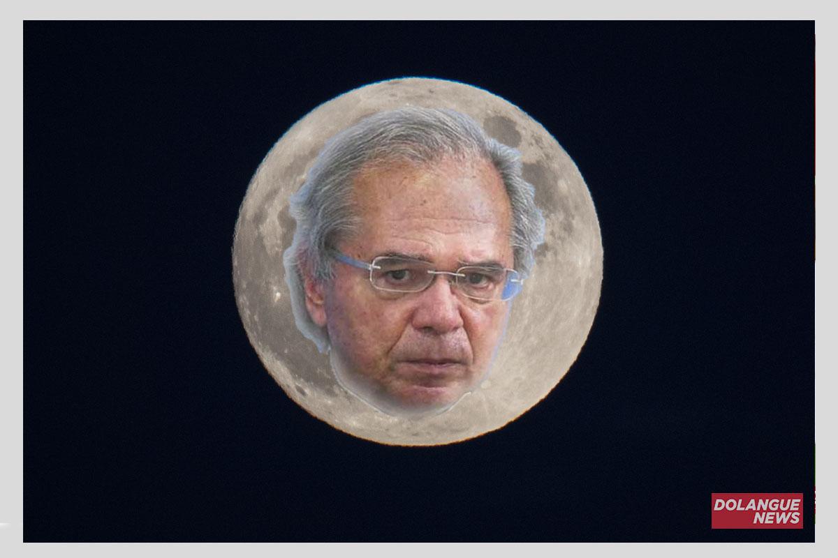 Paulo Guedes quer privatizar a lua para que dia tenha mais horas para trabalhar