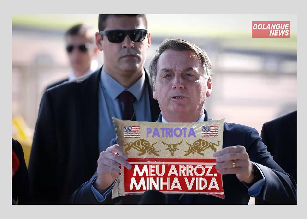 """Governo Bolsonaro lança o programa """"Meu arroz, minha vida"""""""