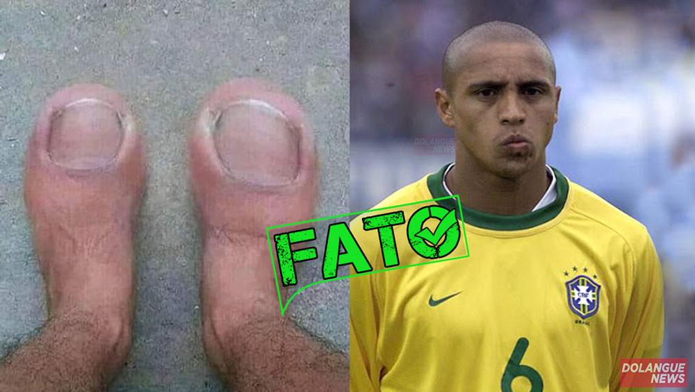 Roberto Carlos posta foto de seus pés pela primeira vez e choca fãs