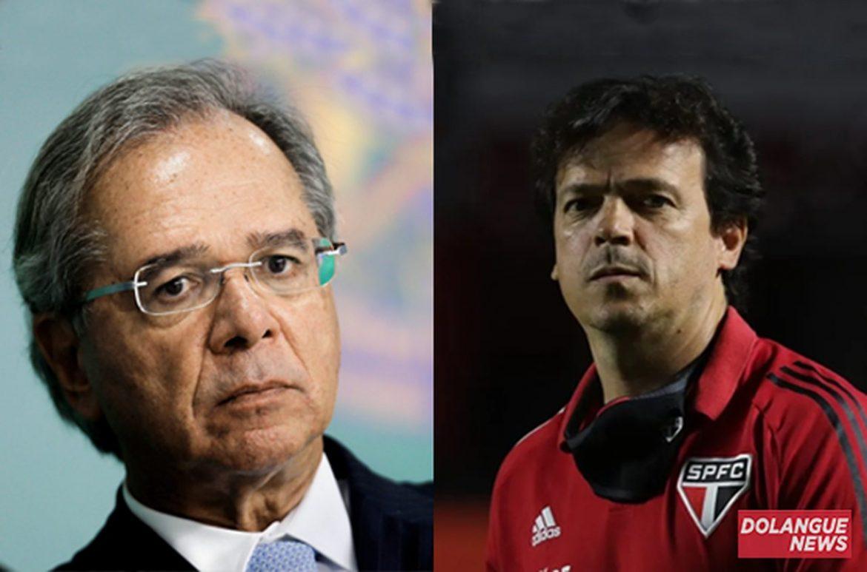 Visando obter mais posses ao governo, Guedes não descarta contratar Fernando Diniz
