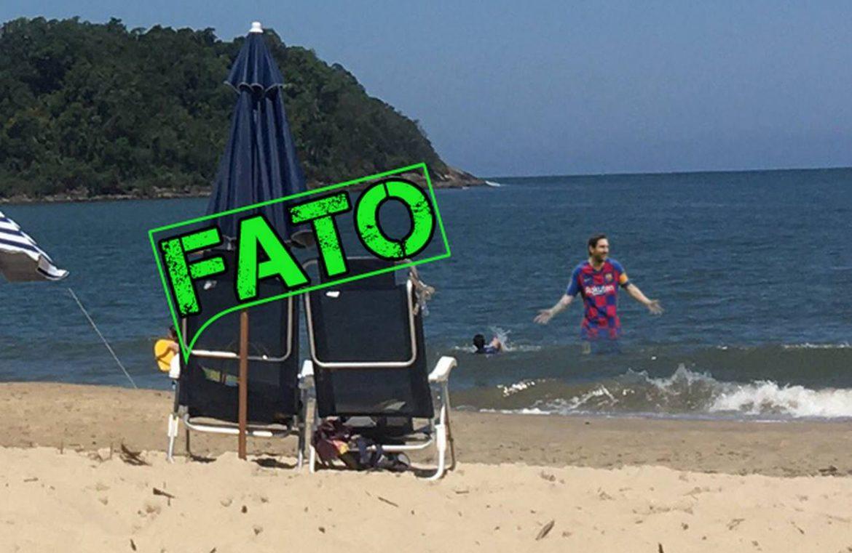 Após faltar treino do Barcelona, Messi é flagrado em praia de leste no Paraná