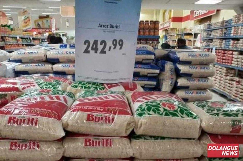 REAJUSTE! Arroz tem redução no preço e pode ser adquirido a partir de R$ 242