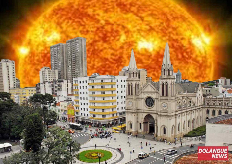 Massa de ar quente se aproxima e máxima em Curitiba pode chegar a 79ºC