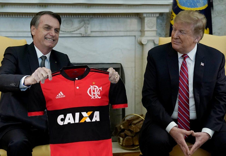 Visando ainda proximidade, Bolsonaro teria indicado Trump para assumir Flamengo