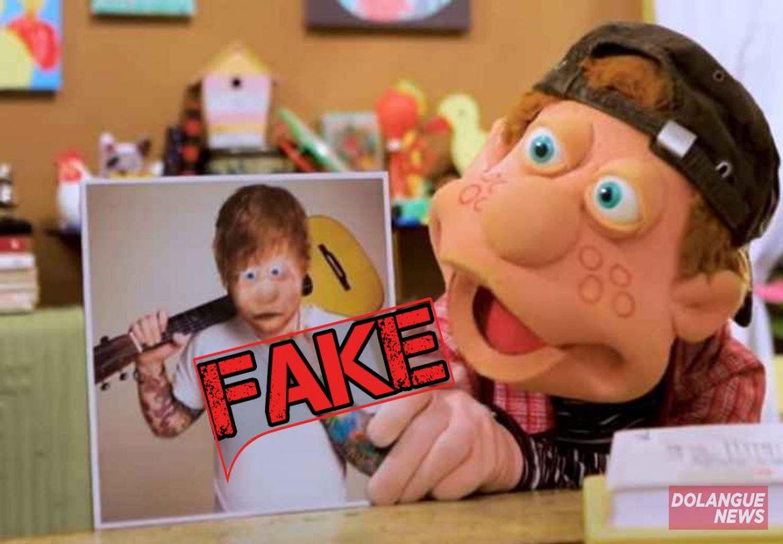 É #Fake que Júlio do Cocoricó seja na verdade Ed Sheeran