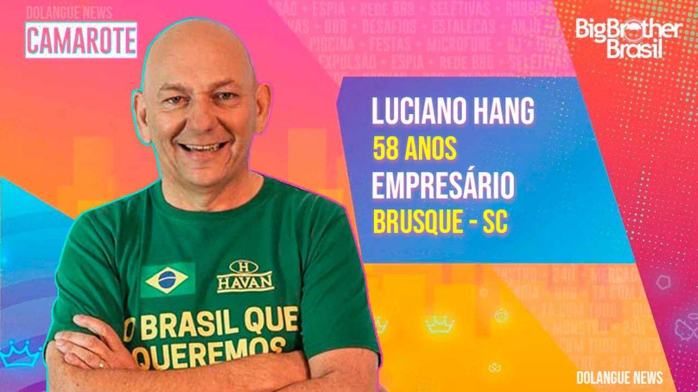 Luciano Hang o 'Véio da Havan' surpreende e é anunciado no BBB21
