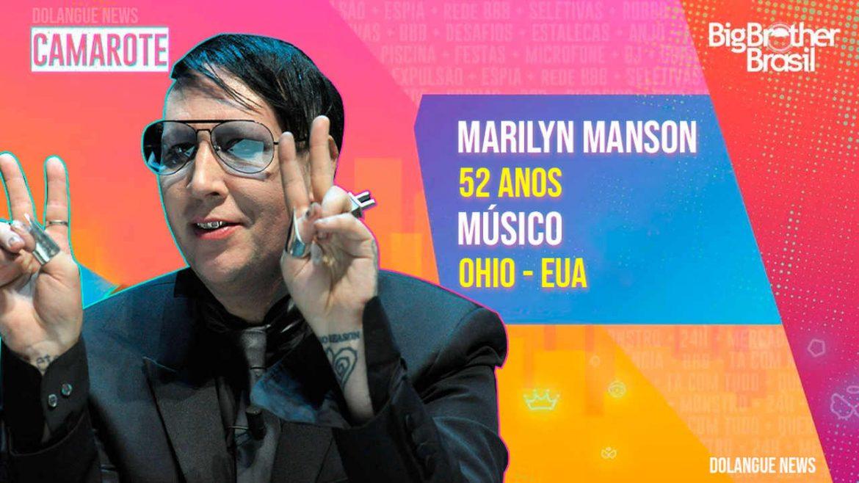 Depois de Fiuk, Karol Conka e Projota, BBB21 terá participação especial de Marilyn Manson