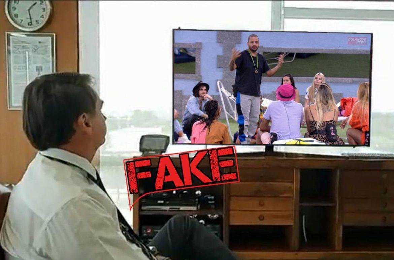 É #Fake que assistir Big Brother Brasil cura Coronavírus