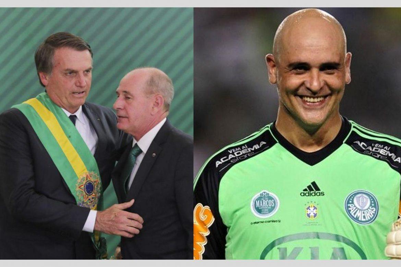 Ex-goleiro Marcos é visto com bons olhos por Bolsonaro para ocupar ministério da defesa